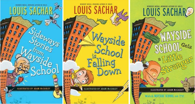 Wayside School books by Louis Sachar