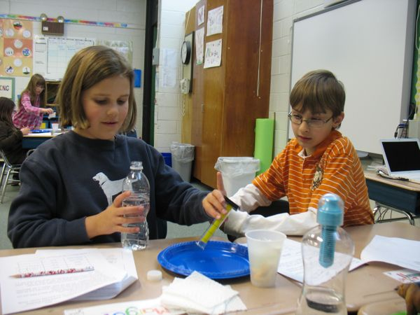 Measuring the water
